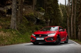 Honda Civic Type R, front static