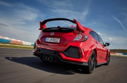 Honda Civic Type R, rear action 2