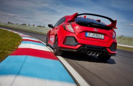 Honda Civic Type R, rear action 3