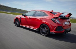 Honda Civic Type R, rear action