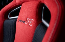 Honda Civic Type R, seat detail