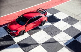 Honda Civic Type R, static track