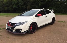 Honda Civic Type R, front