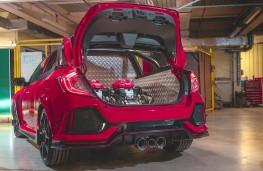 Honda Civic Type R Pickup Concept load bed
