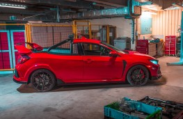 Honda Civic Type R Pickup Concept side