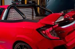 Honda Civic Type R Pickup Concept wing detail