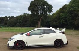 Honda Civic Type R, side