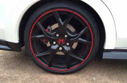 Honda Civic Type R, wheels