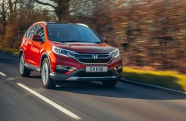 Honda CR-V, action front