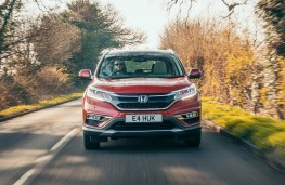 Honda CR-V, action full front