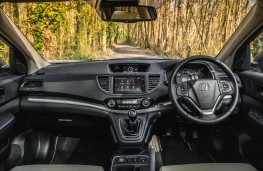 Honda CR-V, dashboard