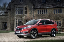 Honda CR-V, front static