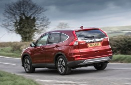 Honda CR-V, rear action