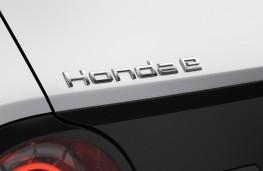 Honda e badge