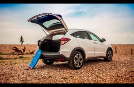 Honda HR-V, boot open