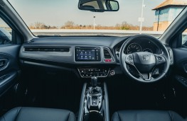 Honda HR-V, dashboard