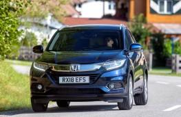 Honda HR-V, full front action