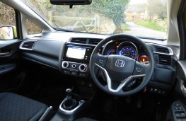 Honda Jazz, dashboard