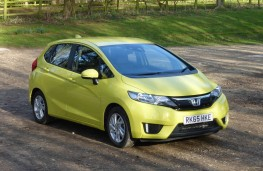 Honda Jazz, front static