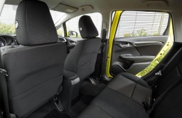 Honda Jazz, rear seats