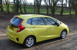 Honda Jazz, rear static