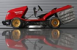 Honda Mean Mower side