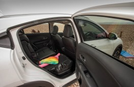 Honda HR-V, rear seats