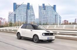 Honda e, 2020, front, action
