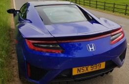 Honda NSX, rear