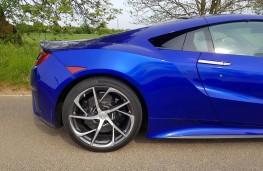 Honda NSX, rear half