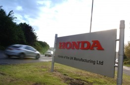 Honda UK factory at Swindon