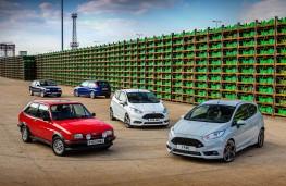 Ford Fiesta, hot generations, Mk2 XR2, Mk3 XR2i, Mk6 ST, Mk7 ST, ST200