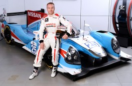 Sir Chris Hoy with Ligier JS P2