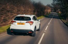 Honda HR-V, 2017, rear, action