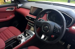 MG HS, 2019, interior, automatic