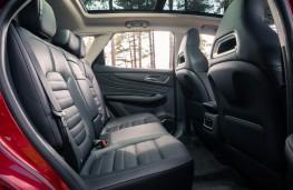 MG HS, 2019, rear seats