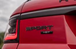 Range Rover Sport HST, 2019, badge