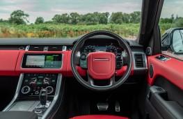 Range Rover Sport HST, 2019, dashboard