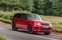 Range Rover Sport HST, 2019, front, action