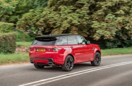 Range Rover Sport HST, 2019, rear, action