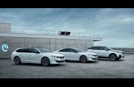 Peugeot hybrid line up, 2019, 508 SW, 508 and 3008