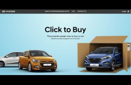 Hyundai Click to Buy website