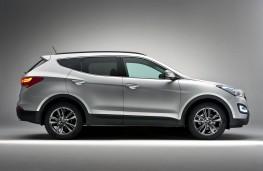 Hyundai Santa Fe, side