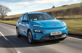 Hyundai Kona Electric 2021 front action
