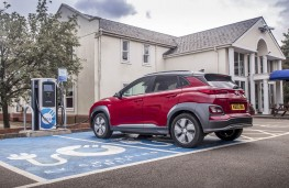 Hyundai Kona Electric, charging