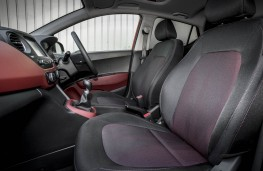 Hyundai i10, front seats