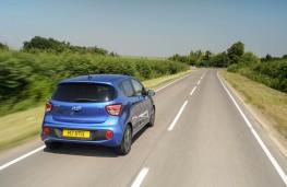 Hyundai i10, rear