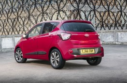 Hyundai i10 rear static