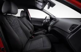 Hyundai i20 2018 front seats