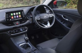 Hyundai i30, dashboard